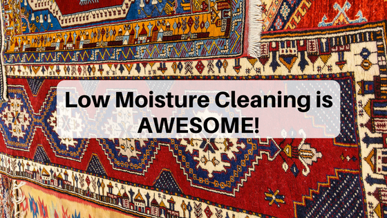 Low Moisture Cleaning is AWESOME!