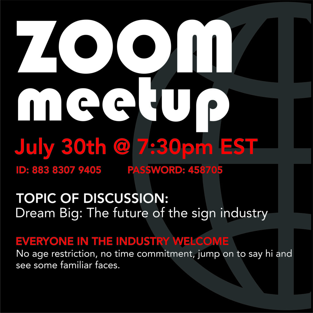 Zoom Meetup ID: 883 8307 9405 Password: 458705 Everyone in the industry welcome No age restriction, no time commitment, jump on to say hi and see some familiar faces