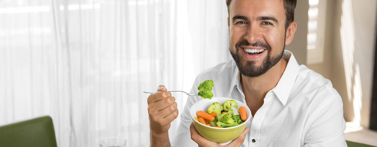 Healthy eating border