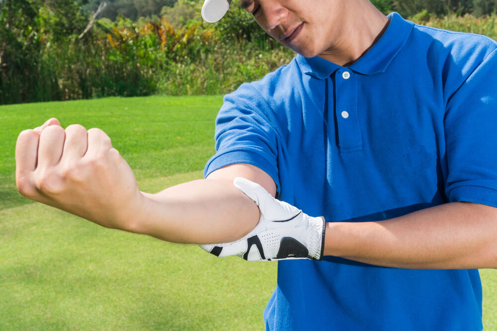 pain in elbow when straightening arm