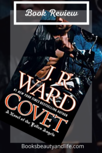 Covet by J. R. Ward book review image