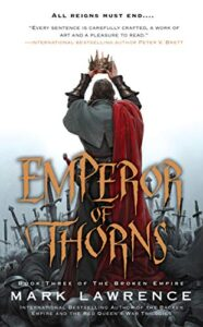Emperor of Thorns Book Cover