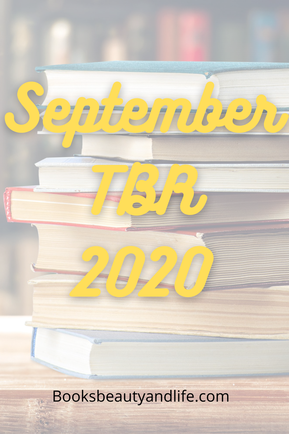 September TBR 2020 blog post image