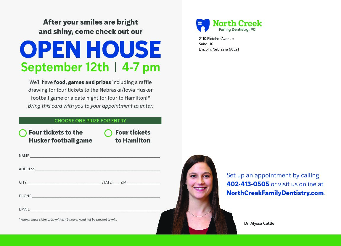 Open House September 12th!!