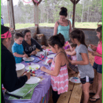 Arts and Crafts is one of the activiites offered at Grand Veiw Campground