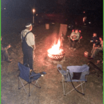 Chilling Out Around the Campfire