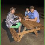 Young Fellas Enjoying Shaved Ice