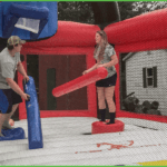 Fun in the Astroball Bounce House