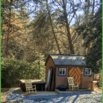 2-Person Tiny Cabin with Hot Tub