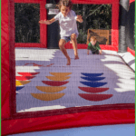 Jump House Fun at Grand View Campground