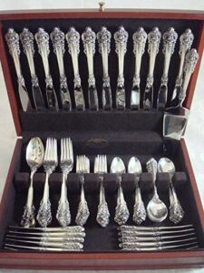sterling flatware set
