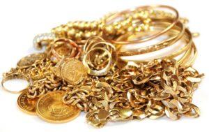 Old, broken, or unwanted jewelry