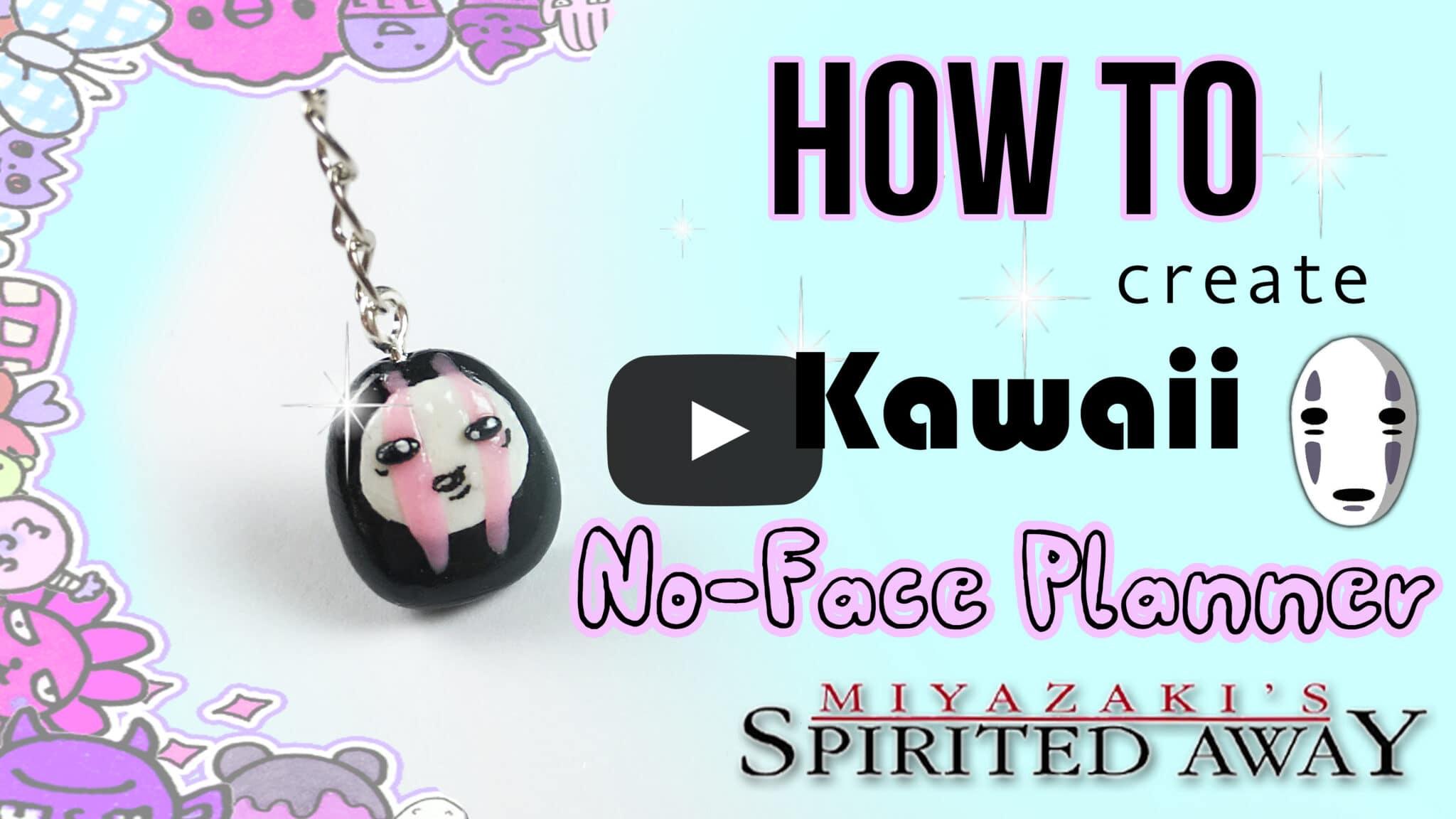No Face Kaonashi Spiritad Away Polymer Clay Tutorial