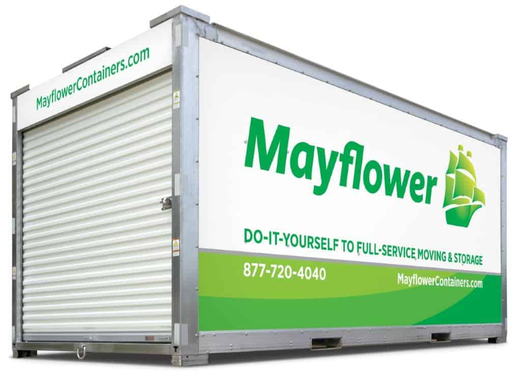 mayflower container storage