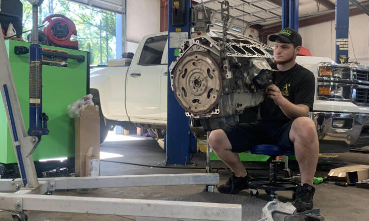 Engine Repair A+ Auto Service - Summerville & North Charleston