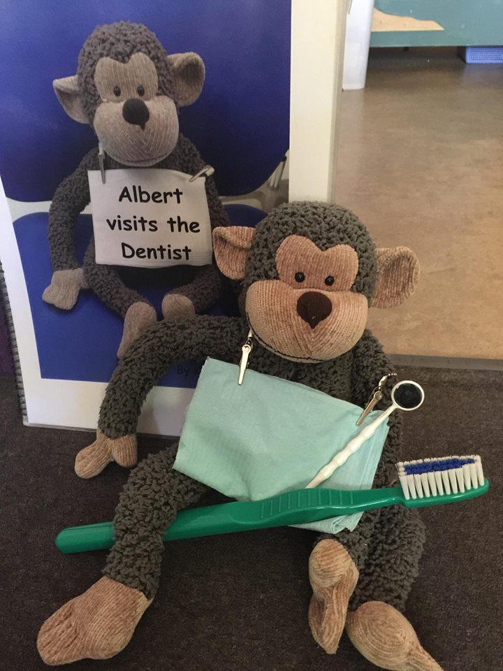 Albert Visits the Dentist