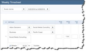 Time entries recorded as single activities automatically transfer over to that week's timesheet.