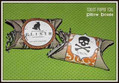 Halloween Pillow Boxes