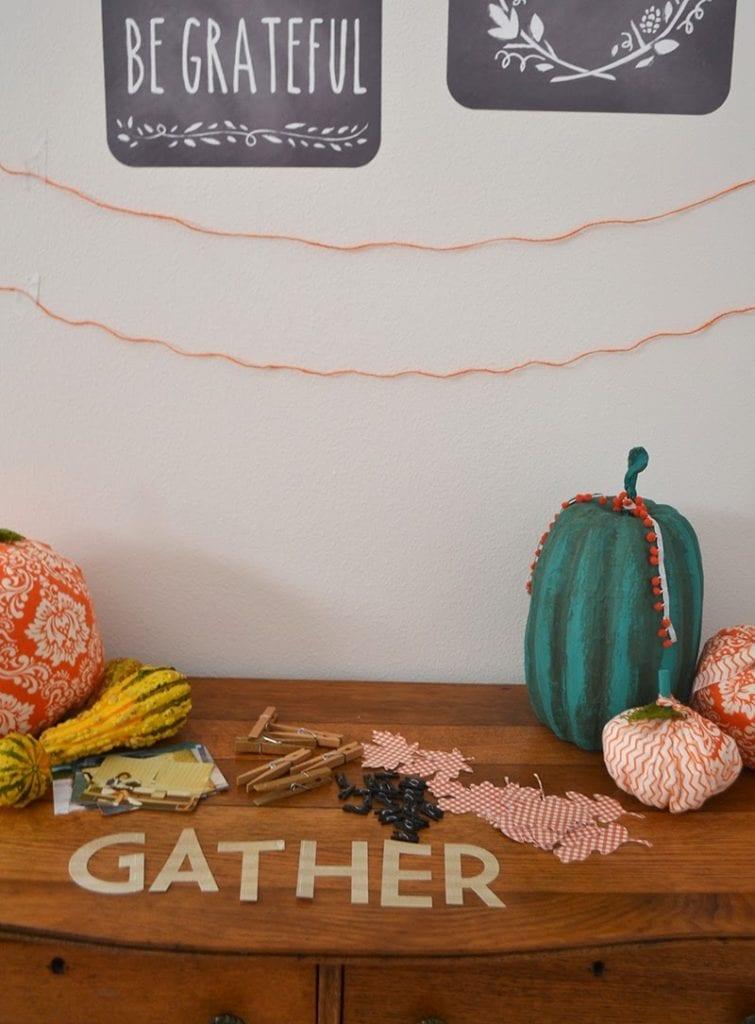 Grateful Fall Photo Banner