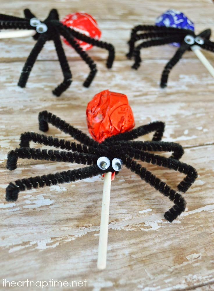 Spider Lollipop - Classroom Friendly Treat