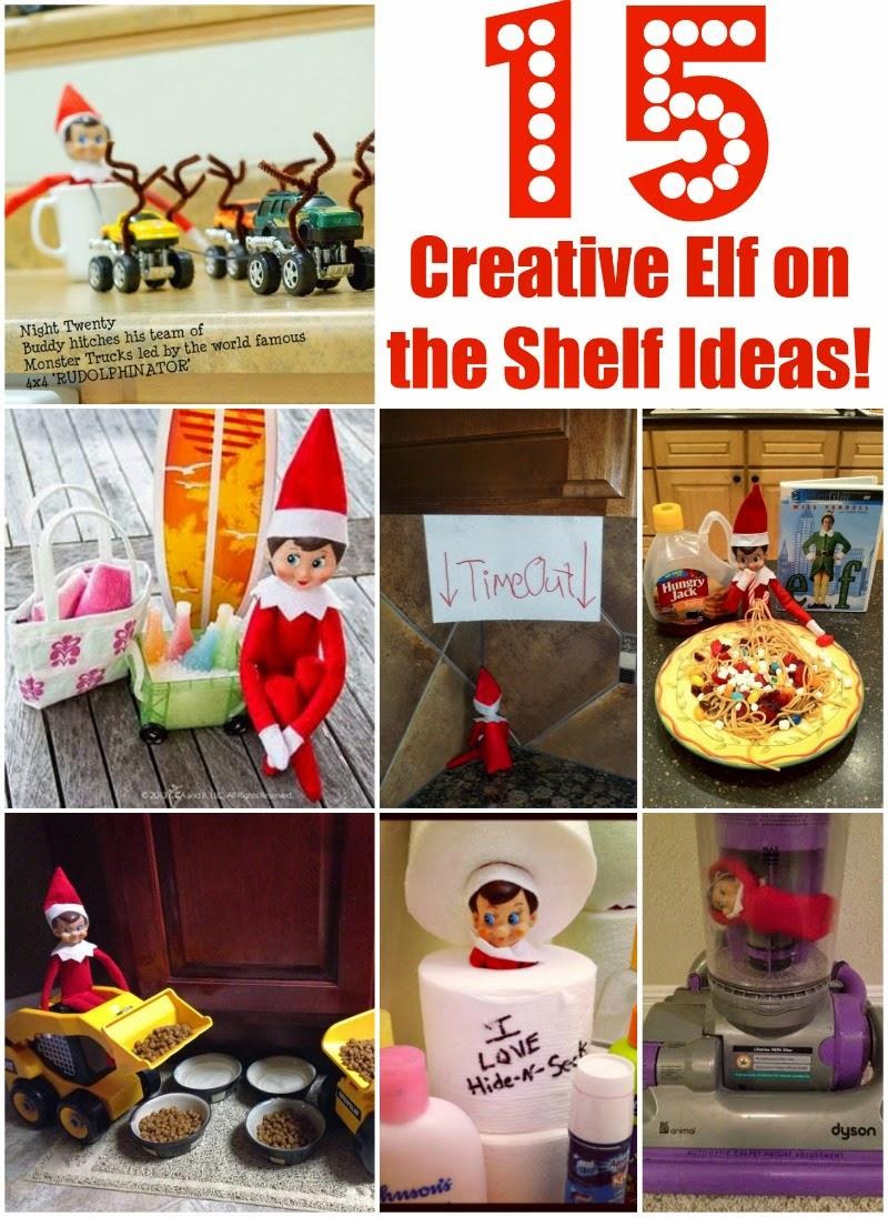 15 Creative Elf on The Shelf Ideas