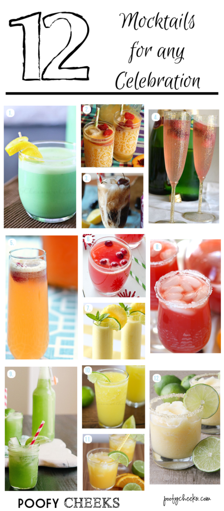 12 Mocktails for Any Celebration - New Year's Eve and Holiday Drinks
