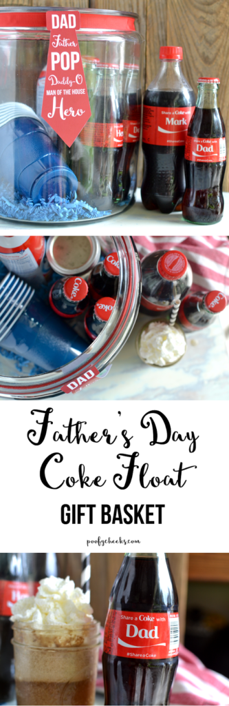 Father's Day Coke Float Basket with Free Printable – https://poofycheeks.com