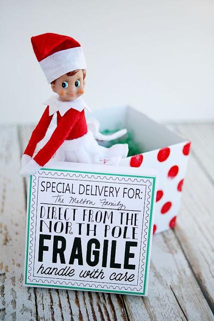 20+ Free Elf on the Shelf Printables