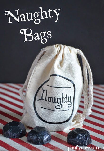 Naughty Bag for Santa Claus's Coal