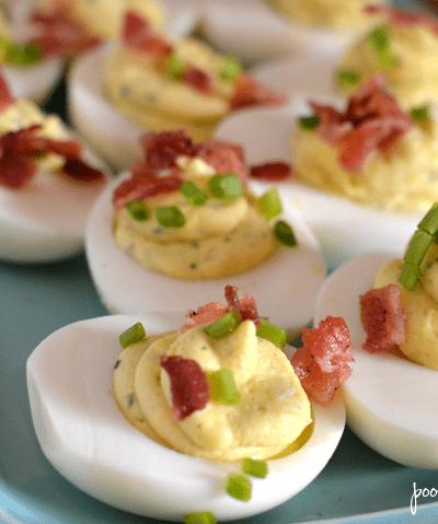 Instant Pot Ranch Deviled Eggs Recipe