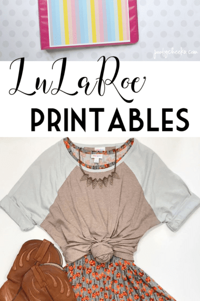 LuLaRoe Free Printables – Care Instructions, Binder Cover, Raffle Tickets and More!