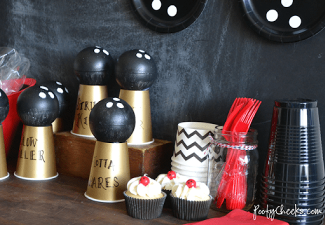 Bowling party ideas for a bowling birthday.