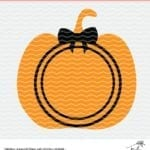 Free Halloween Pumpkin cut file for Silhouette and Cricut cutting machines. Grab loads of free cut files at PoofyCheeks.com #poofycheeks #freecutfile #cutfile #halloween
