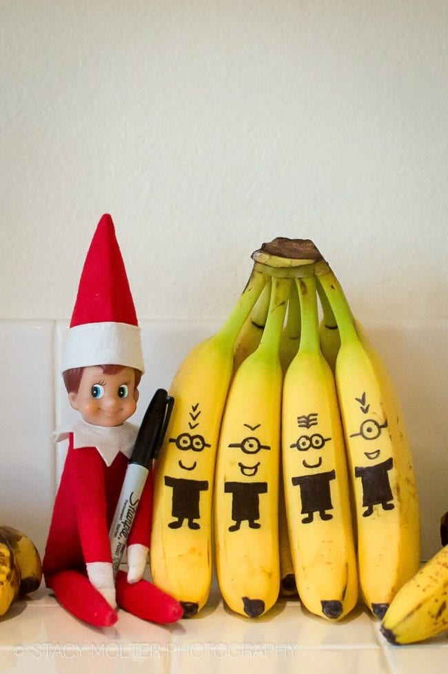 15 Elf on the Shelf Ideas for When You Forget or Are Short on Time from PoofyCheeks.com