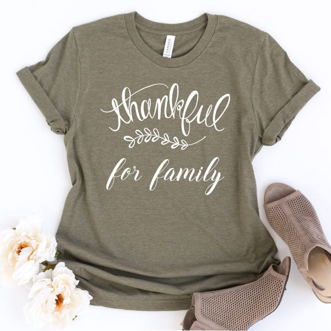 Thankful cut file for Sihouette and Cricut. DXF, SVG and PNG file. Hand lettered design.