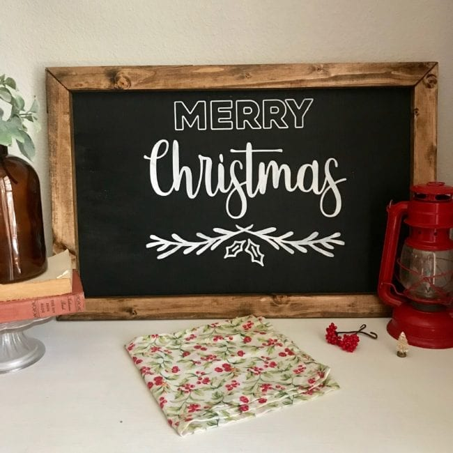 Merry Christmas cut file for Silhouette and Cricut