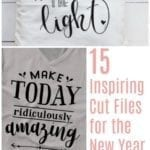 Inspiring Cut Files for Silhouette and Cricut.