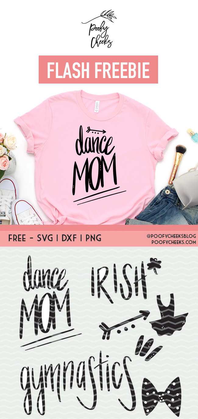 Free Dance SVG, PNG and DXF file for ues with Cricut and Silhouette cutting machines. Instant download and over 120 free cut files available.