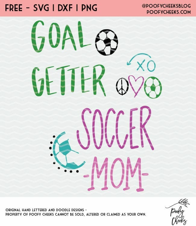 Soccer cut files. Free cut files for Silhouette and Cricut cutting machines. SVG, DXF and PNG