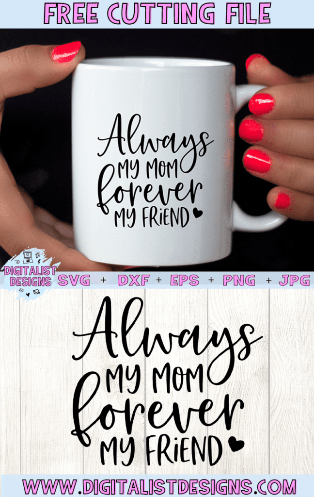 15 Free Mother's Day Cut Files for Silhouette or Cricut from Poofycheeks.com