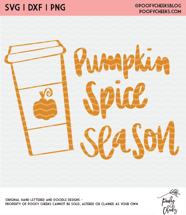 pumpkin spice season design
