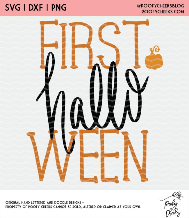 First Halloween design