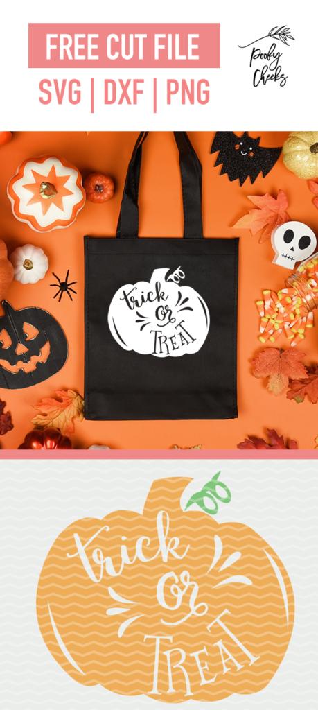 pumpkin trick or treat graphic