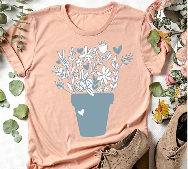 Flower Pot Shirt