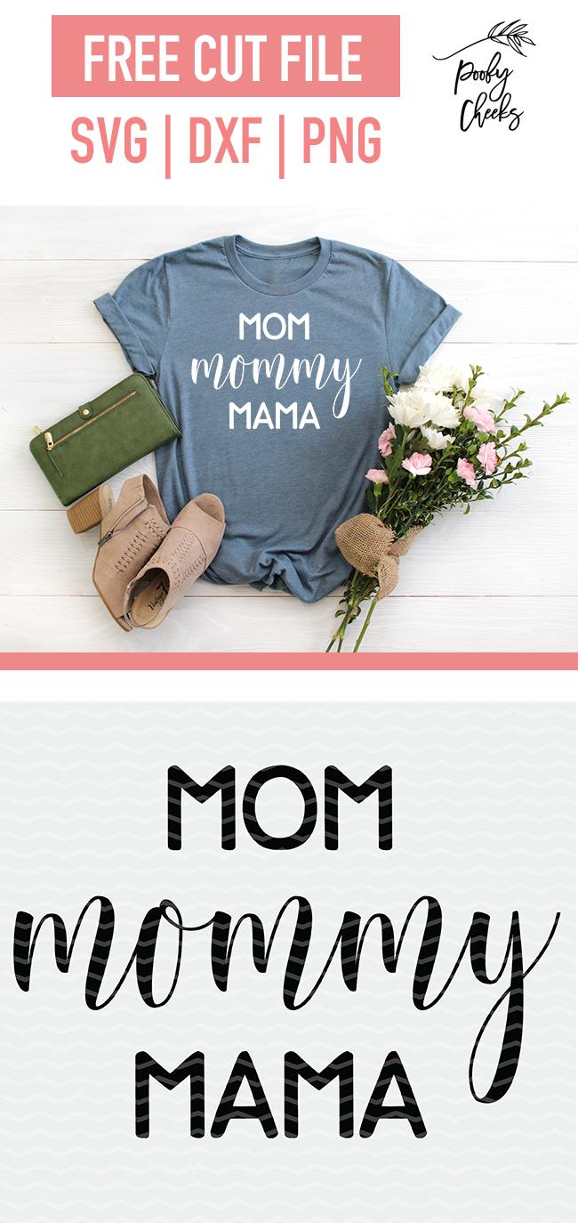 mom shirt cut file