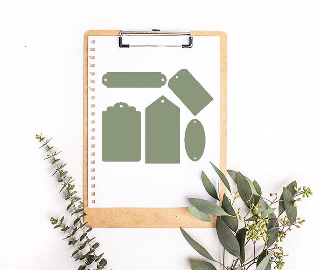 Tag cut files - digital design