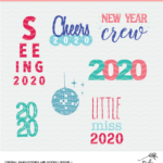 New Year Cut Files - Digital Designs