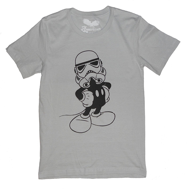 Mickey Mouse storm trooper