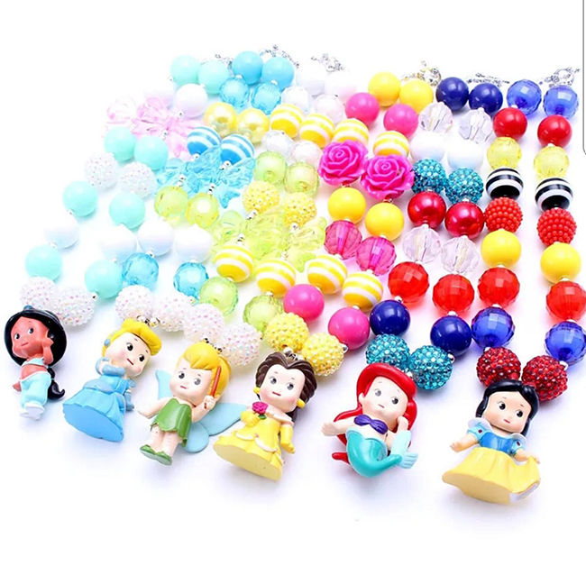 Disney bubble gum necklaces - Ultimate Disney Fan Gift Guide with ideas for the biggest Disney lover.