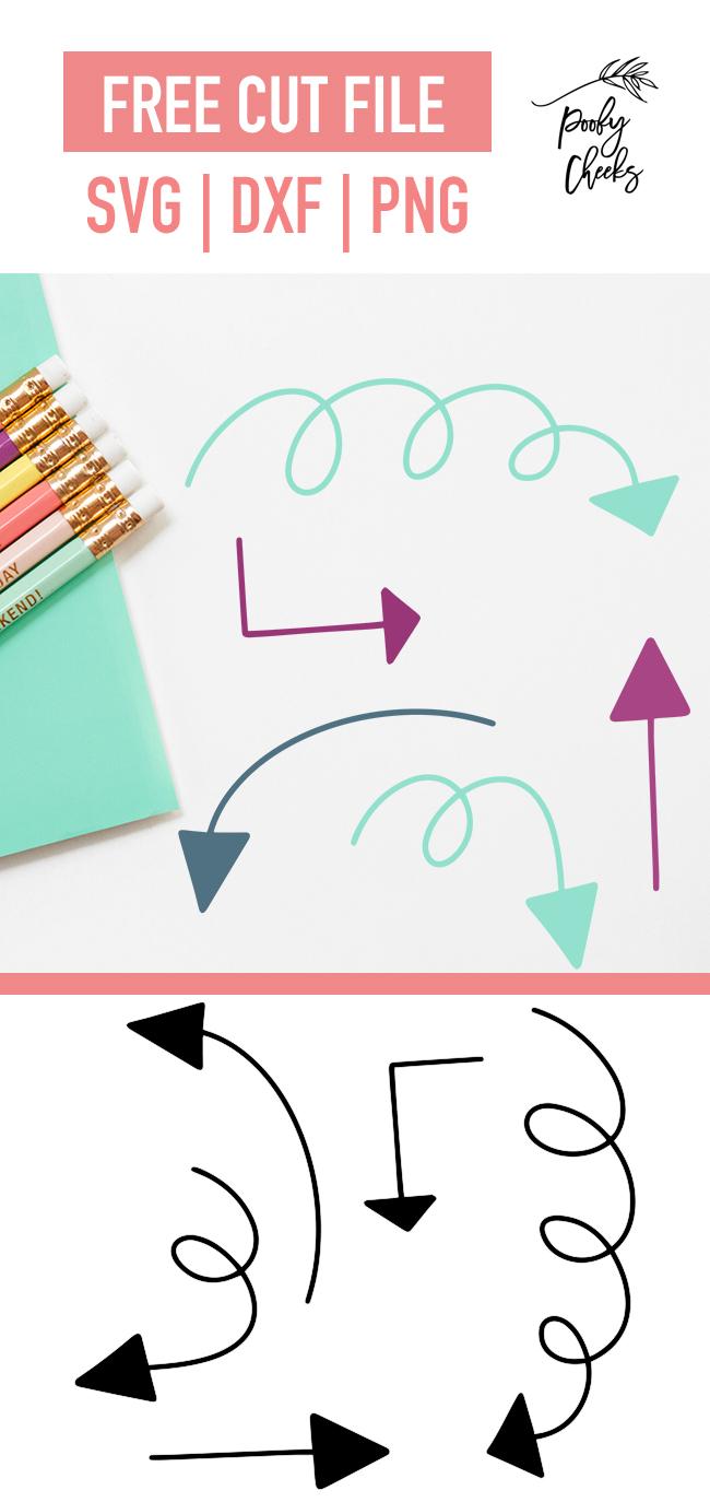 Doodle Arrow Digital Design